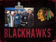 Chicago Blackhawks Team Name Clip Frame