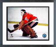 Chicago Blackhawks Tony Esposito Action Framed Photo