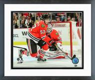 Chicago Blackhawks Trevor van Riemsdyk Action Framed Photo