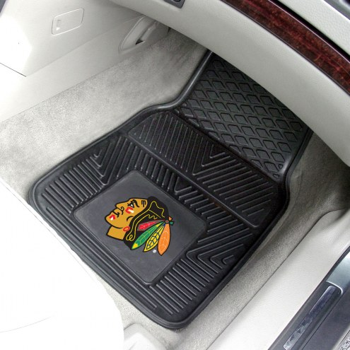 Chicago Blackhawks Vinyl 2-Piece Car Floor Mats