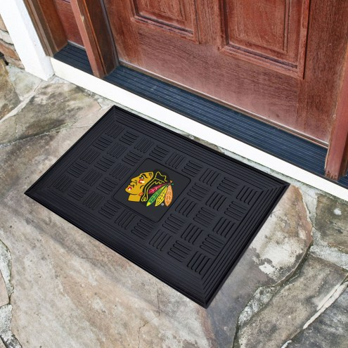 Chicago Blackhawks Vinyl Door Mat