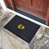 Chicago Blackhawks Vinyl Door Mat