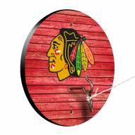 Chicago Blackhawks Weathered Design Hook & Ring Game