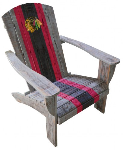 Chicago Blackhawks Wooden Adirondack Chair