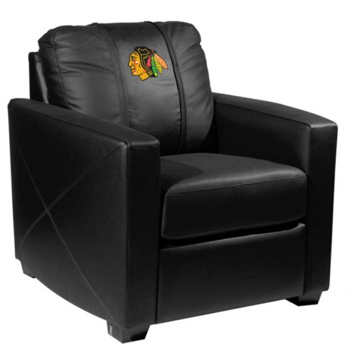 Chicago Blackhawks XZipit Silver Club Chair