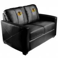Chicago Blackhawks XZipit Silver Loveseat
