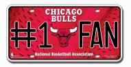 Chicago Bulls #1 Fan License Plate
