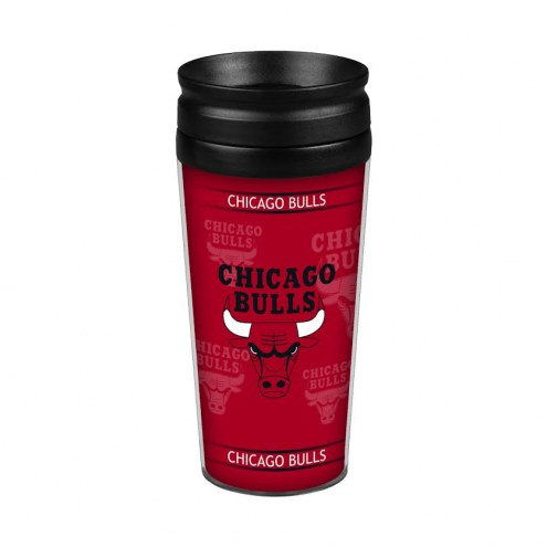 Chicago Bulls 14 oz. Full Wrap Travel Mug