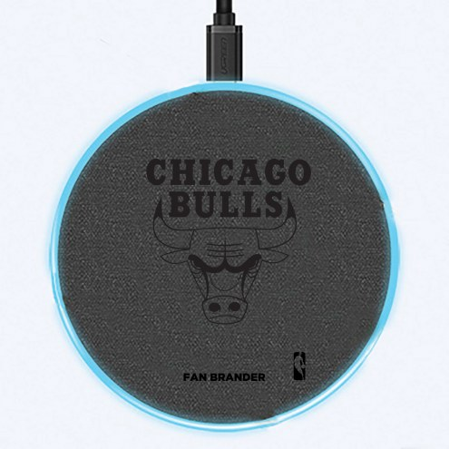 Chicago Bulls 15W Wireless Charging Base