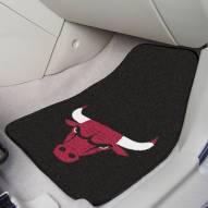 Chicago Bulls 2-Piece Carpet Car Mats