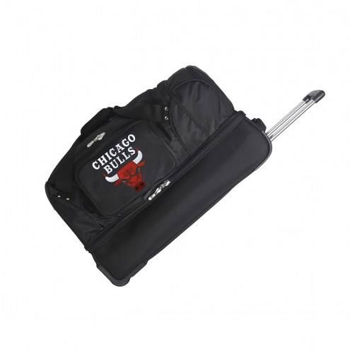 "Chicago Bulls 27"" Drop Bottom Wheeled Duffle Bag"