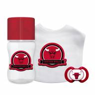 Chicago Bulls 3-Piece Baby Gift Set
