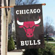Chicago Bulls Appliqué 2-Sided Banner Flag