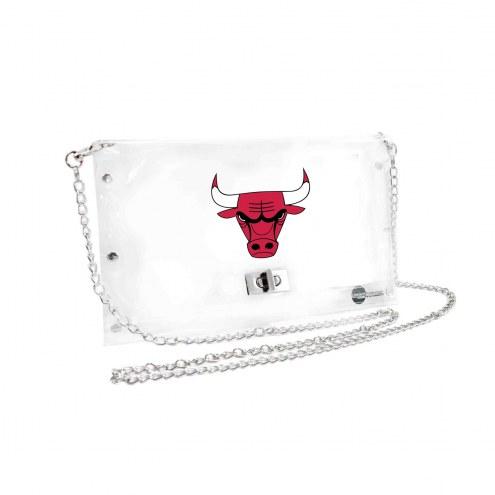 Chicago Bulls Clear Envelope Purse