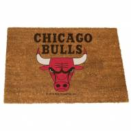 Chicago Bulls Colored Logo Door Mat