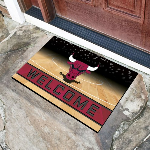 Chicago Bulls Crumb Rubber Door Mat
