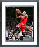Chicago Bulls Derrick Rose 2014-15 Playoff Action Framed Photo
