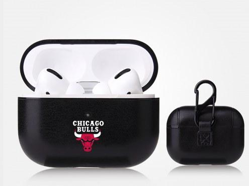 Chicago Bulls Fan Brander Apple Air Pod Pro Leather Case