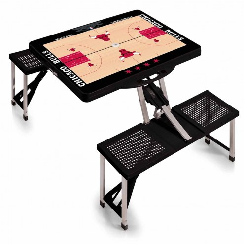 Chicago Bulls Folding Picnic Table