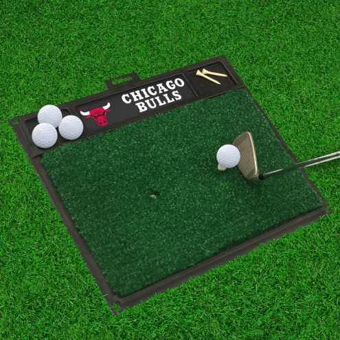 Chicago Bulls Golf Hitting Mat