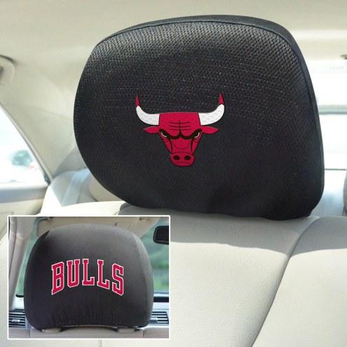 Chicago Bulls Headrest Covers