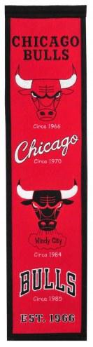 Chicago Bulls Heritage Banner