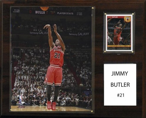 "Chicago Bulls Jimmy Butler 12"" x 15"" Player Plaque"