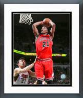 Chicago Bulls Jimmy Butler Playoff Action Framed Photo