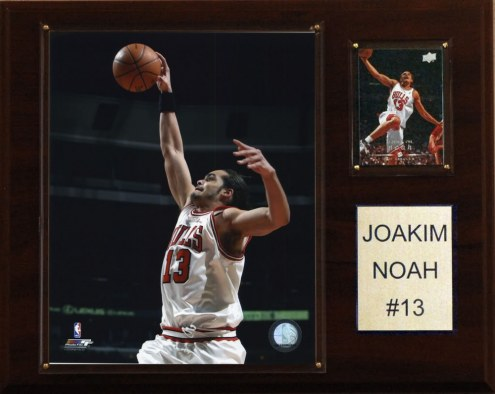 "Chicago Bulls Joakim Noah 12"" x 15"" Player Plaque"