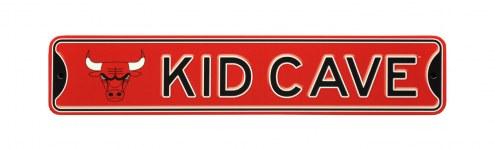 Chicago Bulls Kid Cave Street Sign