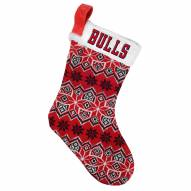 Chicago Bulls Knit Christmas Stocking