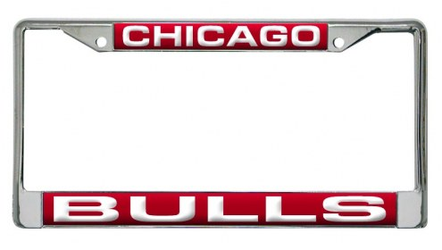 Chicago Bulls Laser Cut License Plate Frame