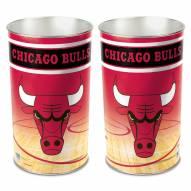 Chicago Bulls Metal Wastebasket