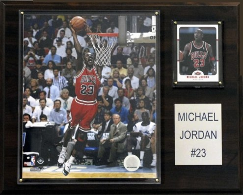 "Chicago Bulls Michael Jordan 12"" x 15"" Player Plaque"