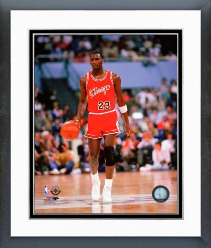 Chicago Bulls Michael Jordan 1984-85 Action Framed Photo