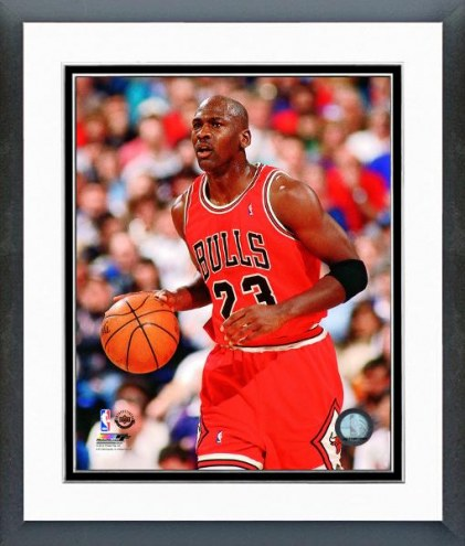Chicago Bulls Michael Jordan 1992-93 Action Framed Photo
