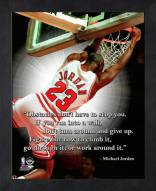Chicago Bulls Michael Jordan Obstacles Framed Pro Quote