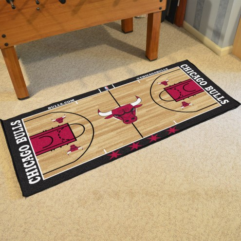 Chicago Bulls NBA Court Large Runner