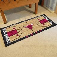Chicago Bulls NBA Court Large Runner