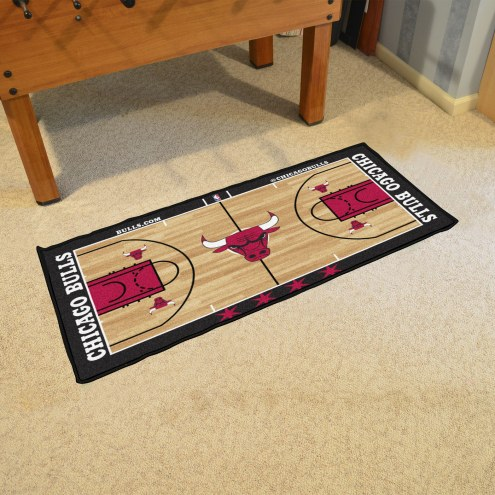 Chicago Bulls NBA Court Runner Rug