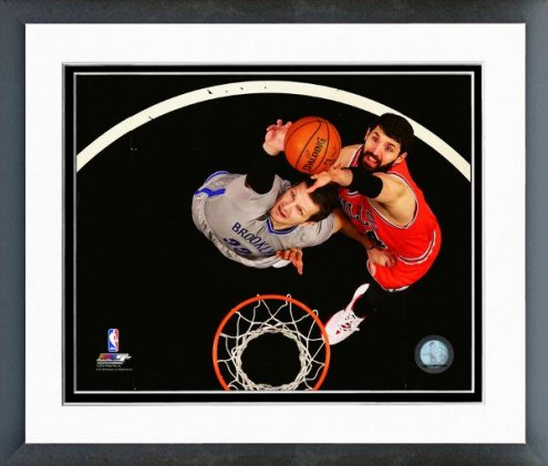 Chicago Bulls Nikola Mirotic Action Framed Photo