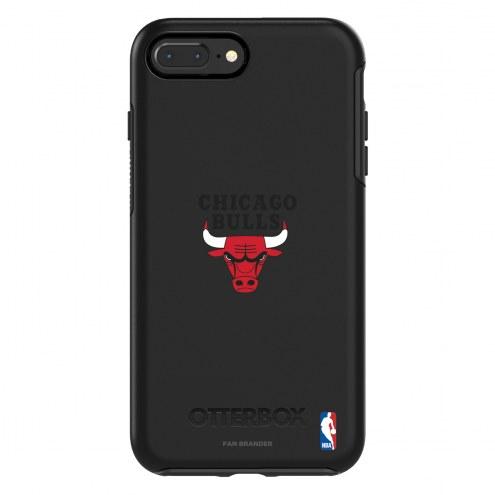 Chicago Bulls OtterBox iPhone 8 Plus/7 Plus Symmetry Black Case