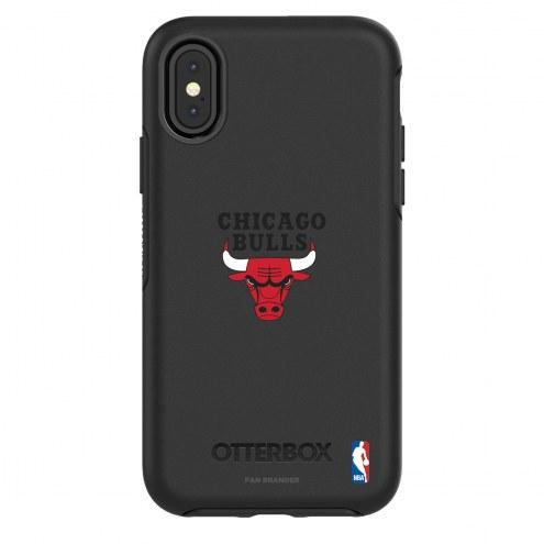 Chicago Bulls OtterBox iPhone X/Xs Symmetry Black Case