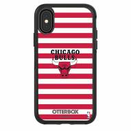 Chicago Bulls OtterBox iPhone X/Xs Symmetry Stripes Case