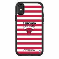 Chicago Bulls OtterBox iPhone X/Xs Symmetry Stripes Case