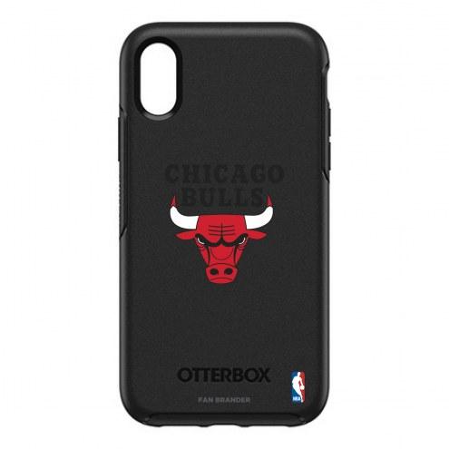 Chicago Bulls OtterBox iPhone XR Symmetry Black Case