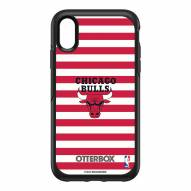 Chicago Bulls OtterBox iPhone XR Symmetry Stripes Case