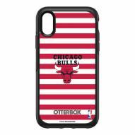 Chicago Bulls OtterBox iPhone XR Symmetry Stripes Case