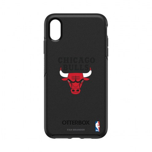 Chicago Bulls OtterBox iPhone XS Max Symmetry Black Case