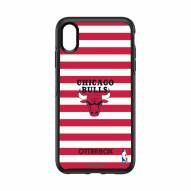 Chicago Bulls OtterBox iPhone XS Max Symmetry Stripes Case